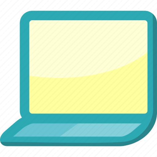 computer, concept, device, electronic, hardware, laptop, technology icon