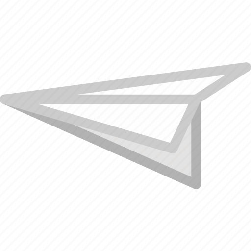 art, concept, design, fly, game, paper, plane icon