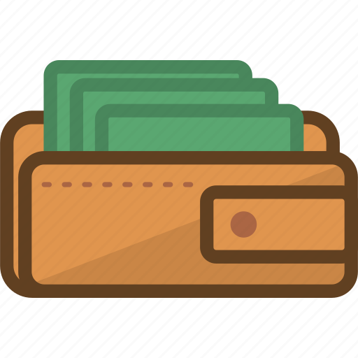 currency, dollar, finance, investment, money, paper, wallet icon