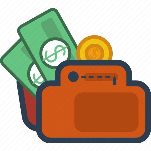 coin, currency, dollar, finance, investment, money, wallet icon