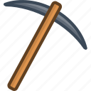 axe, mining, object, tool, weapon icon