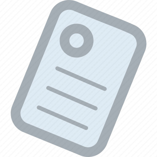 concept, data, document, note, paper, reminder note, sticky note icon