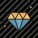 diamond, investment, savings, wealth icon