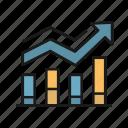 chart, finance, graph, growth, money icon
