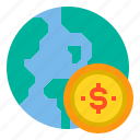 banking, currency, economy, money, payment icon