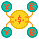 banking, currency, money, payment icon
