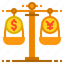 banking, currency, money, payment, scale