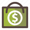 bag, discount, money, payment, shop, store icon