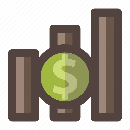 Business, dollar, increase, investment, money icon - Download on Iconfinder