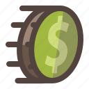 business, dollar, money, payment, quick, speed icon