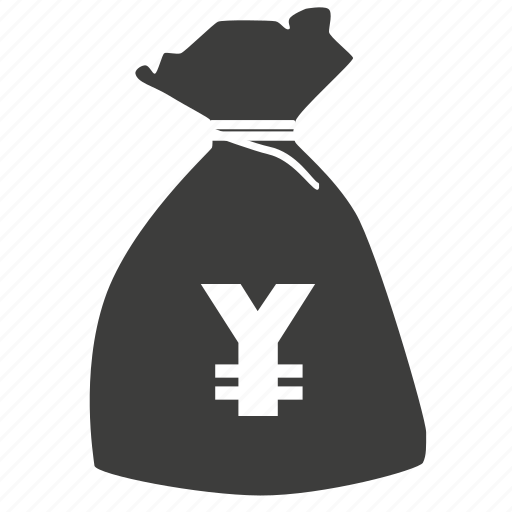 bag, bank, buy, coin, currency, dollar, ecommerce, financial, money, payment, sale, sell, yen icon