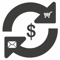 business, cart, cash, chat, communication, dollar, ecommerce, finance, message, money, online, price, refresh, sale, shop, shopping, talk icon