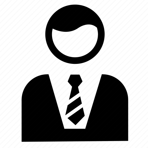 account, businessman, employee, employer, entrepreneur, manager, student icon