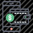 digital banking, ebanking, mcommerce, mobile banking, online banking icon