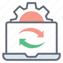 data recover, system backup, system refresh, system reload, system sync icon
