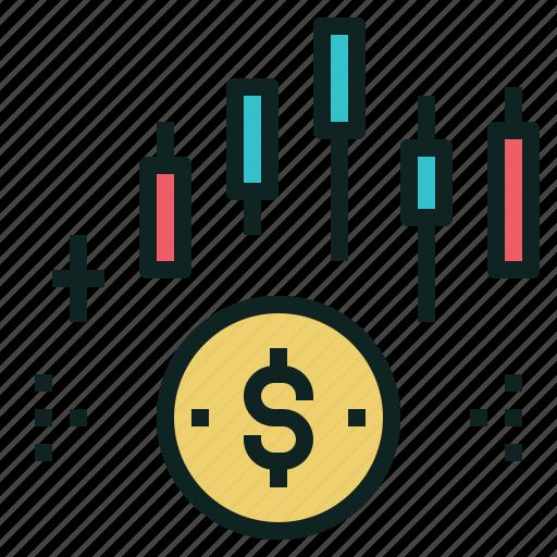 dividend, money, profit, shareholder, yield icon