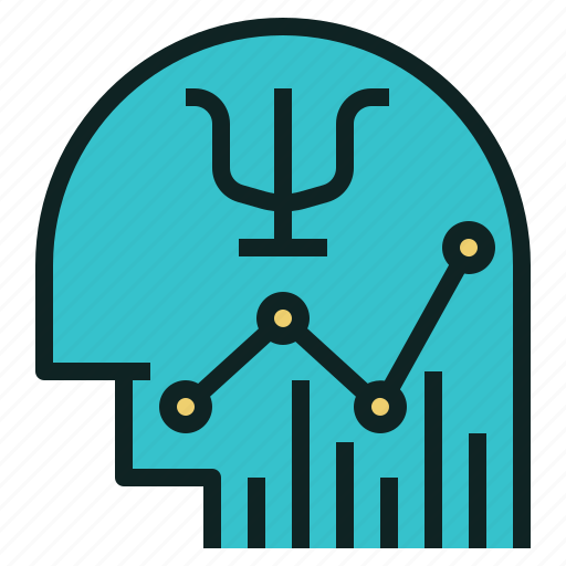 chart, line, psi, psychology, trading icon