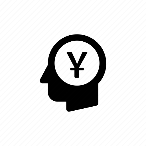 business, cash, head, money, payment, think, thoughts icon