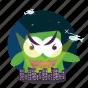 emoji, godzilla icon