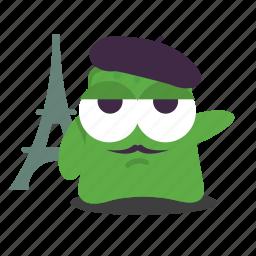 emoji, french icon