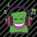 music, emoji
