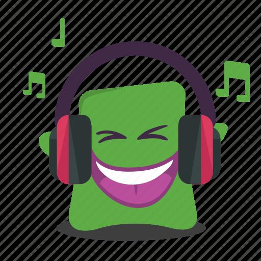emoji, music icon