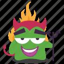 devil, emoji icon