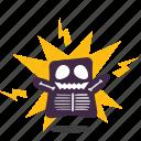 emoji, shock icon