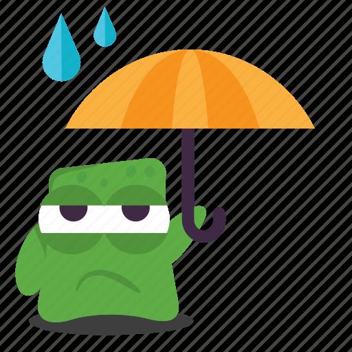emoji, sad icon