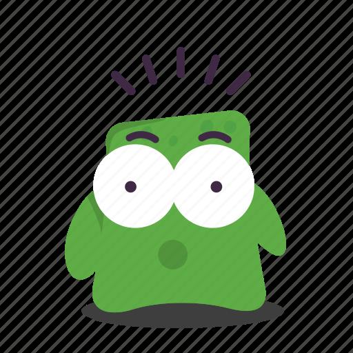 emoji, surprised icon