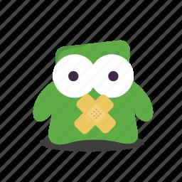emoji, silent icon