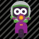 delivery, emoji icon