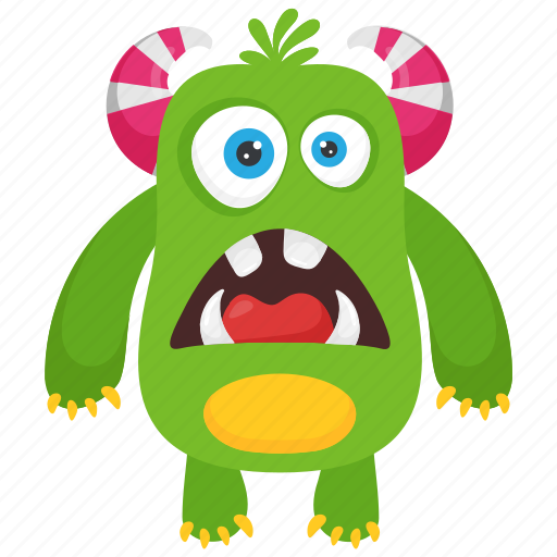 Alien Monster Bacteria Monster Dirty Creature Germ Monster Monster Cartoon Icon Download On Iconfinder