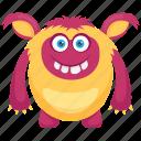 demon, dragon ball monster, fat monster, halloween monster, monster cartoon icon