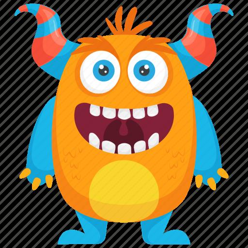 Greek Monster Costume Greek Monster Bull Monster Monster Character Horns Monster Icon
