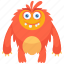 beast, monster cartoon, moshi monster, zombie, zombie monster icon