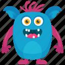 alien monster, cute monster, moshi costume, moshi monster, moshi monster character icon