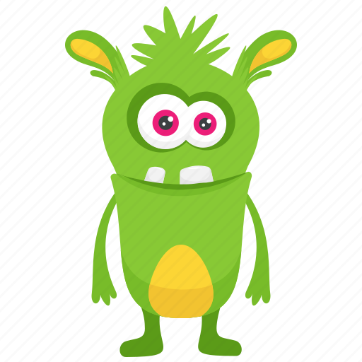 It is a graphic of Luscious Monster Pictures for Kids