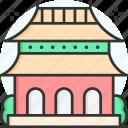 beijing, china, landmark, temple, monument