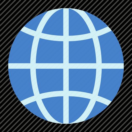 Globe, internet icon - Download on Iconfinder on Iconfinder