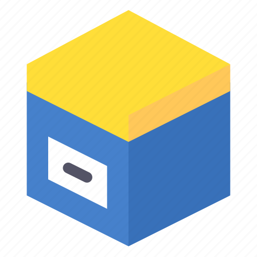 box, cargo, package, product icon