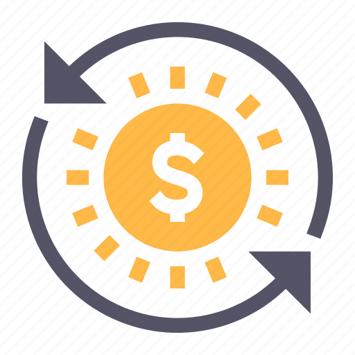 business, dollar, investments, money icon