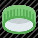 caps, plastic, hdpe icon