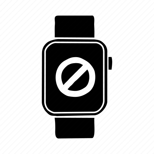 apple watch, device, mobile, no display, restricted, screen, watch icon