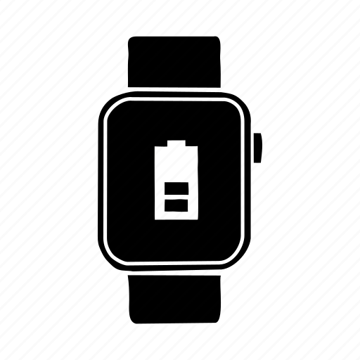 apple watch, apple watch battery, apple watch charge, device, mobile, screen, watch battery icon