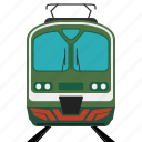 loco, locomotive, railroad, train, transport icon