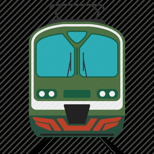 loco, locomotive, railroad, train, transport icon