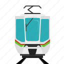 railroad, train, tram, transport icon