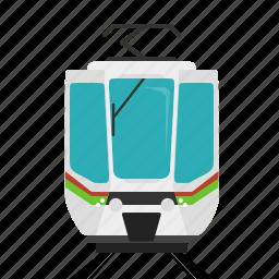 railroad, train, tram, transport icon
