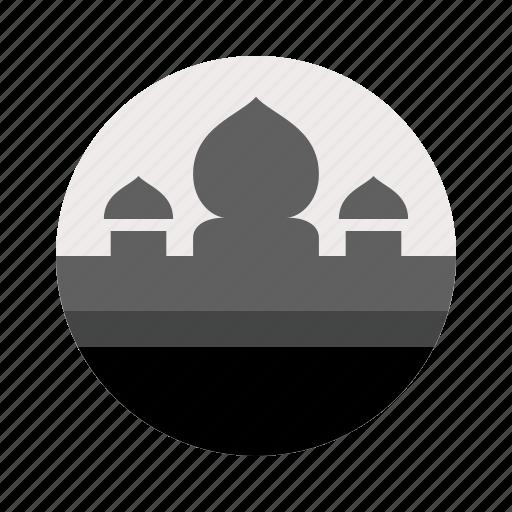 islamic, minaret, mosque, qoba, three, tower icon